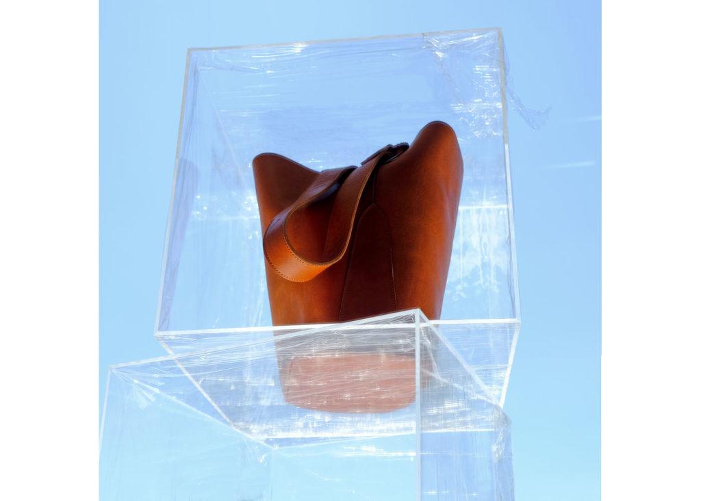 cubo piel natural cubo cristal